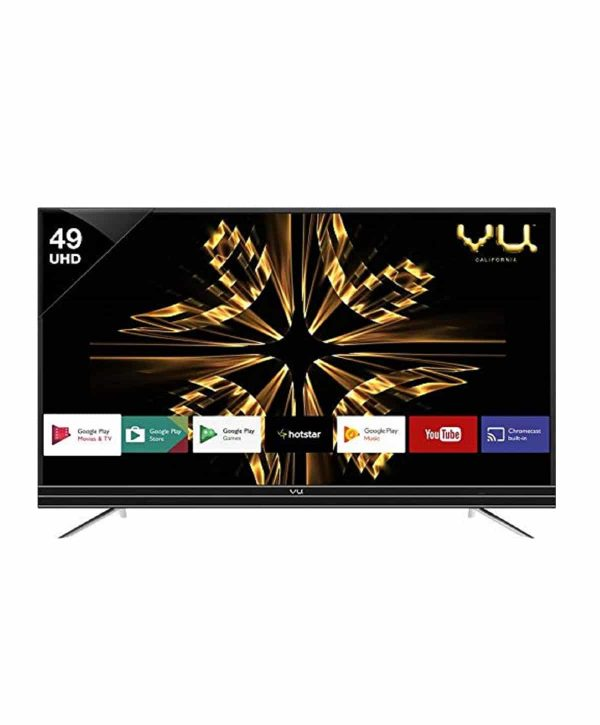 VU 49 PL Black Smart LED TV