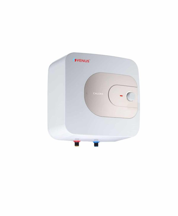 Venus Calora Water Heater - White With Gold, 10L