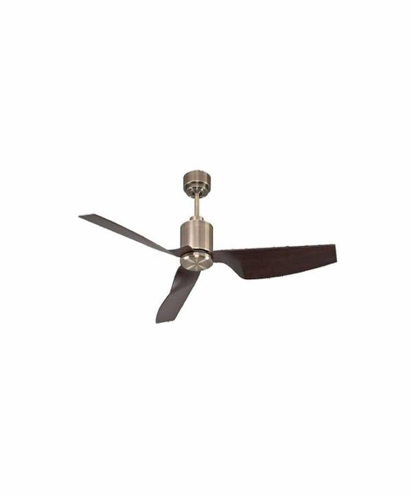 Luft 1320mm Airfusion Climate II Ceiling Fan - Antique Brass Wood