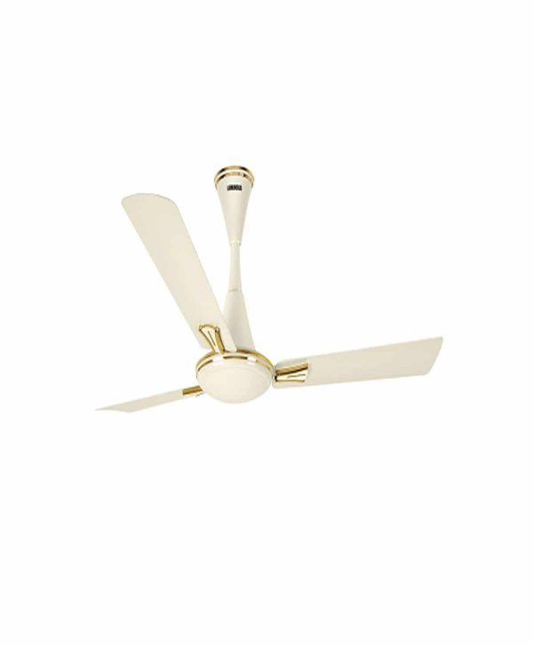 Luminous Audie Standard 1200mm 3 Blade Ceiling Fan - Butter Cream