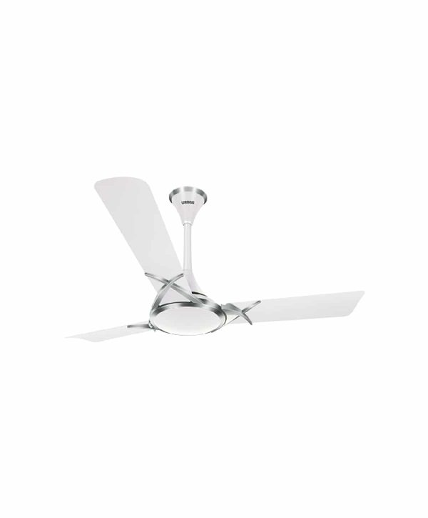 Luminous Deltoid 1200mm 3 Blade Ceiling Fan - Silky White