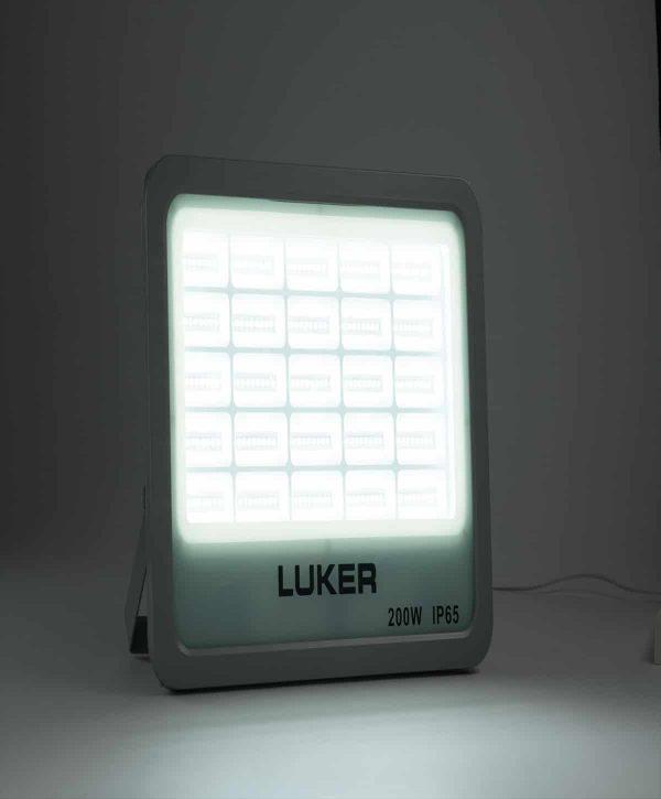 Luker Sleek Series 100W LED Flood Light