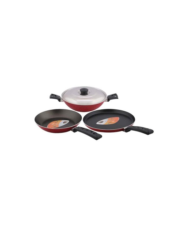 Bajaj Nirlep Aspa Red 4 pcs Gift Set