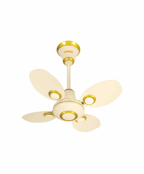 Luminous Petalaire 600mm 4 Blade Ceiling Fan - Ivory