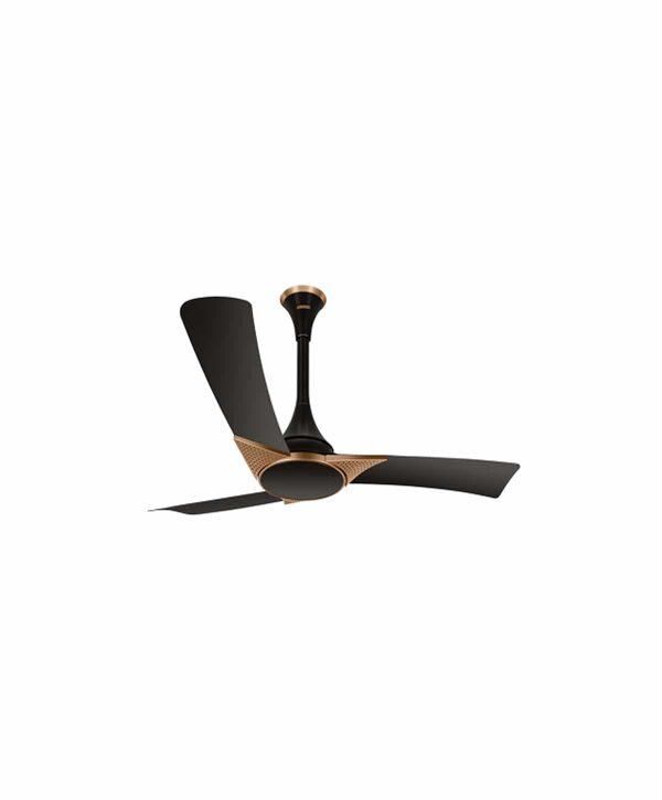 Luminous Raptor 1200mm 3 Blade Ceiling Fan - Black Copper