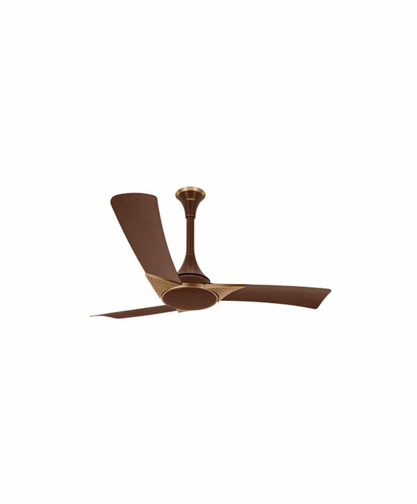 Luminous Raptor 1200mm 3 Blade Ceiling Fan - Tuscan Red