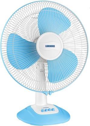 Luminous Speed PRO 400mm Table Fan Blue